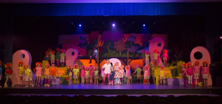 Seussical, Newtown H.S. 8-8-13 065