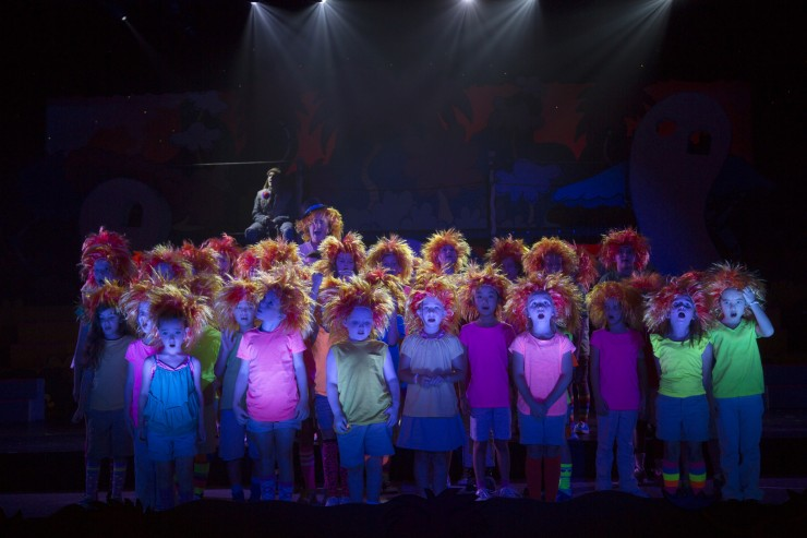 Seussical, Newtown H.S. 8-8-13 072