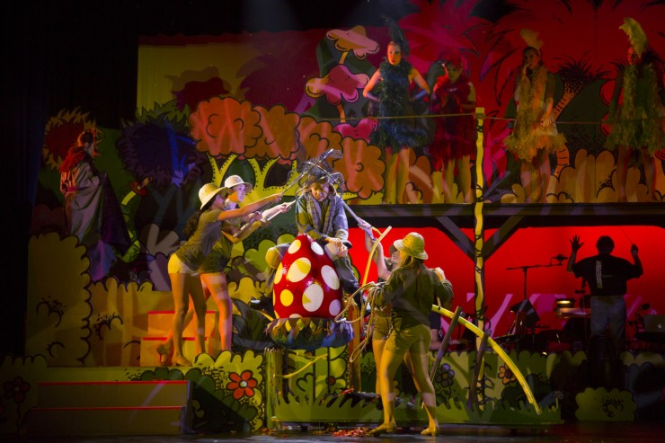 Seussical, Newtown H.S. 8-8-13 2161
