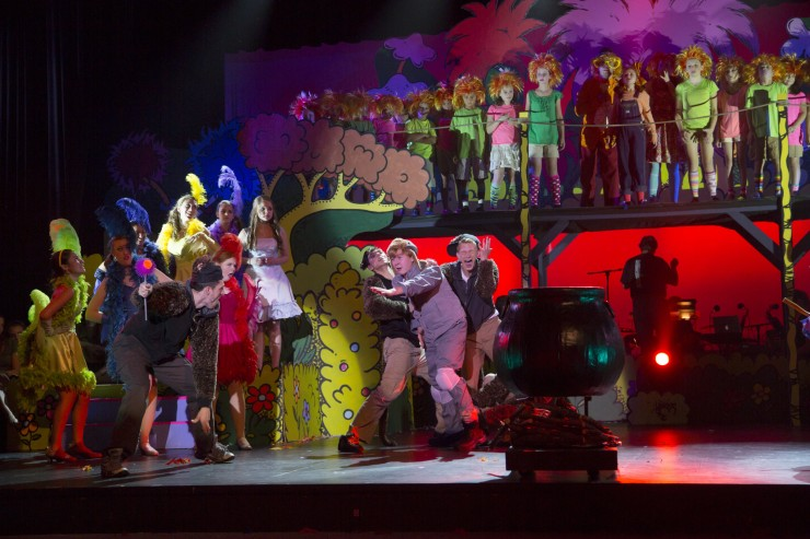 Seussical, Newtown H.S. 8-8-13 2216