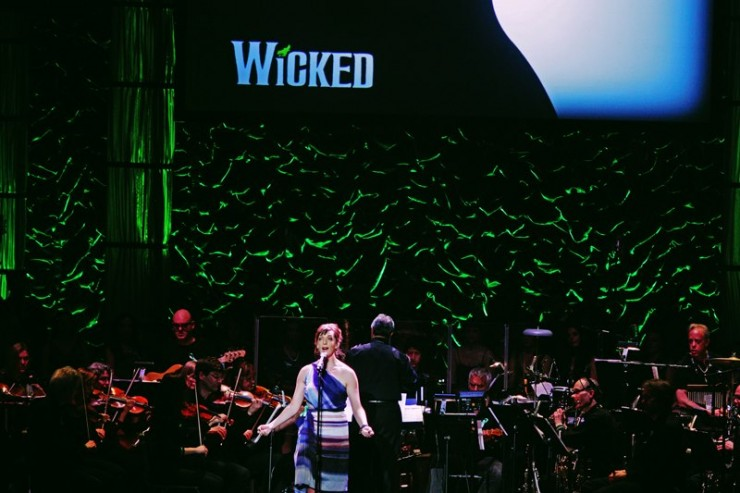 Julia Murney Defying Gravity for us