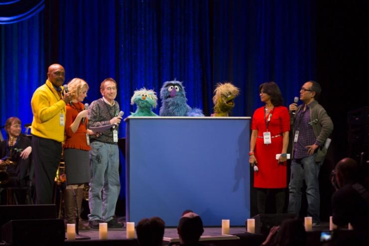 The Sesame Street Crew
