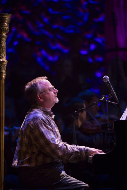 Marc Shaiman at the piano